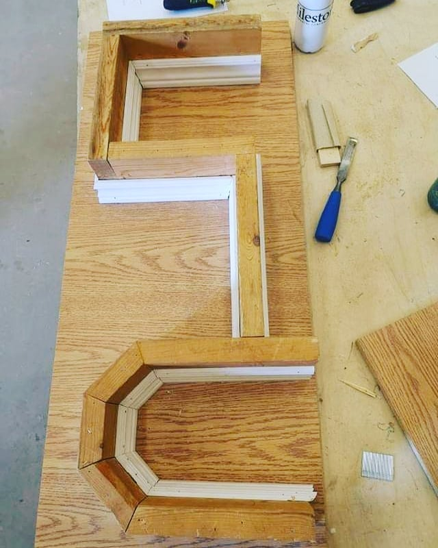 Today is #woodwednesday but I'd like to change it just for today to #skillswednesday ! Lately at  @Niagaracollege I've been working on my coping and miter skills and I have gotta say it's been alot of fun to learn. What do you think ? Any of you have some tips or tricks to pass onto me ?? Teach me your ways! . . . . . #wood #woodburning #pyrography #witteveenwoodburning #witteveenwoodworking #smallbusiness #supportlocal #woodwork #woodburn #woodworking #handcrafted #rusticdecor #homedecor #furniture #handmade #cabinetry #details #trimwork #makersgonnamake #madeinontario #reclaimedwood #niagara #niagaraonthelake #homeimprovement #diy