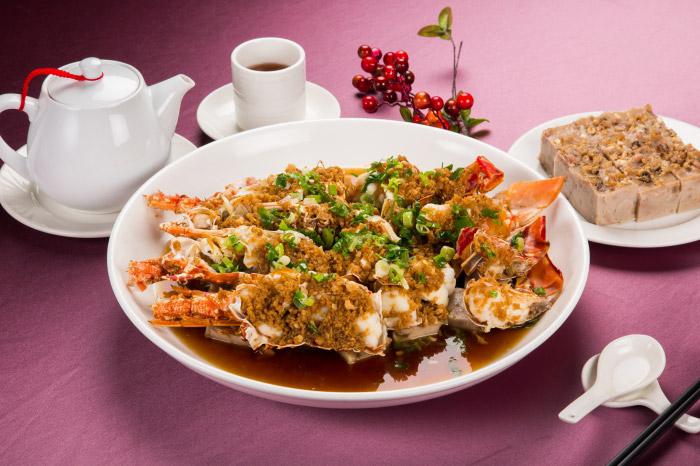 蒜茸龍蝦芋糕鼎