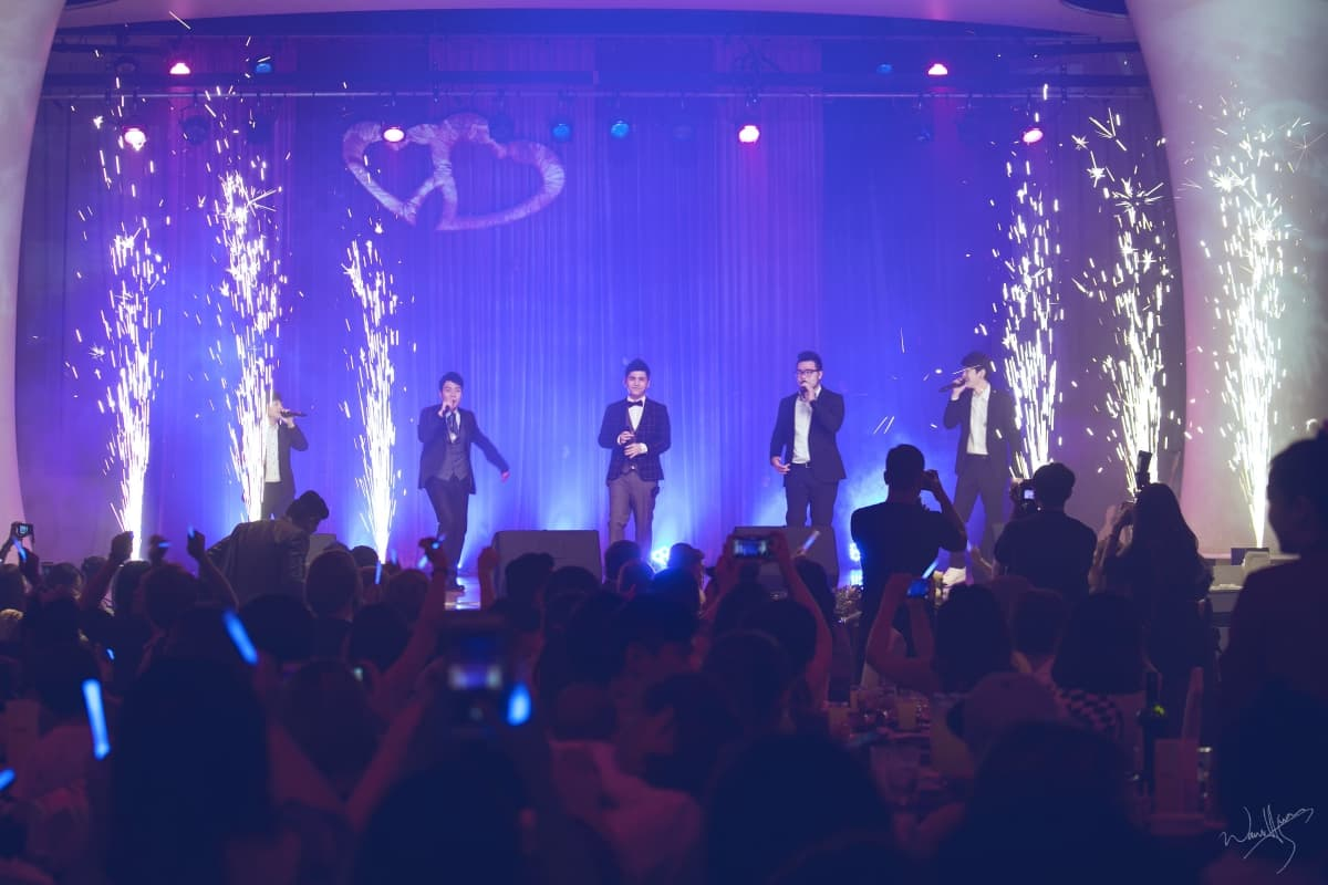 ▲VOX玩聲樂團熱力獻唱。