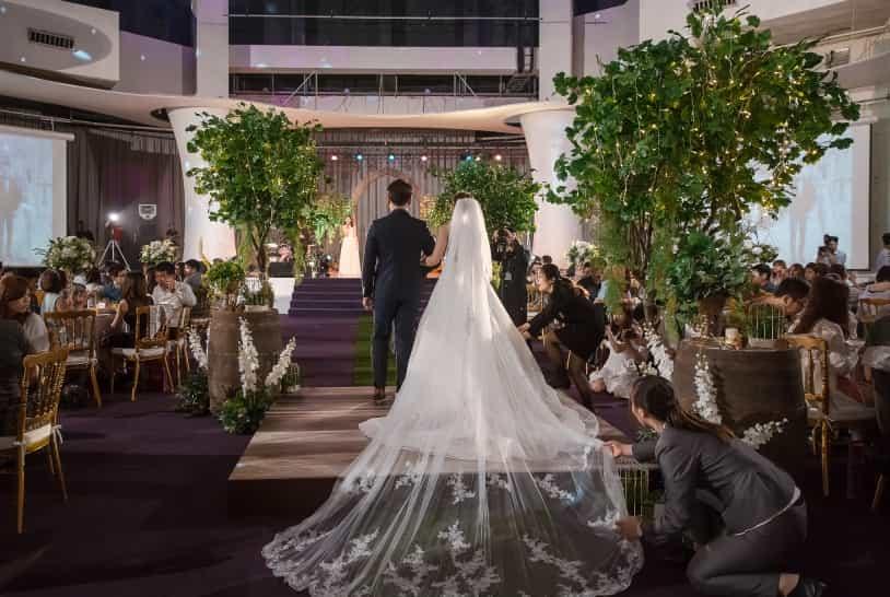 婚禮優惠專案森林系百萬3