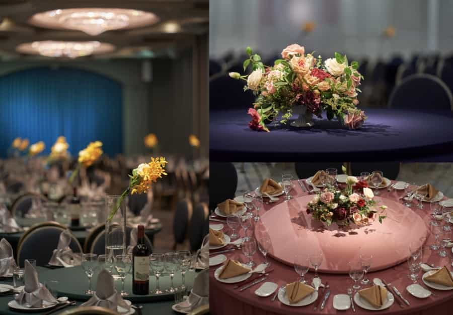 廳房風格顏色豪鼎飯店婚宴會館