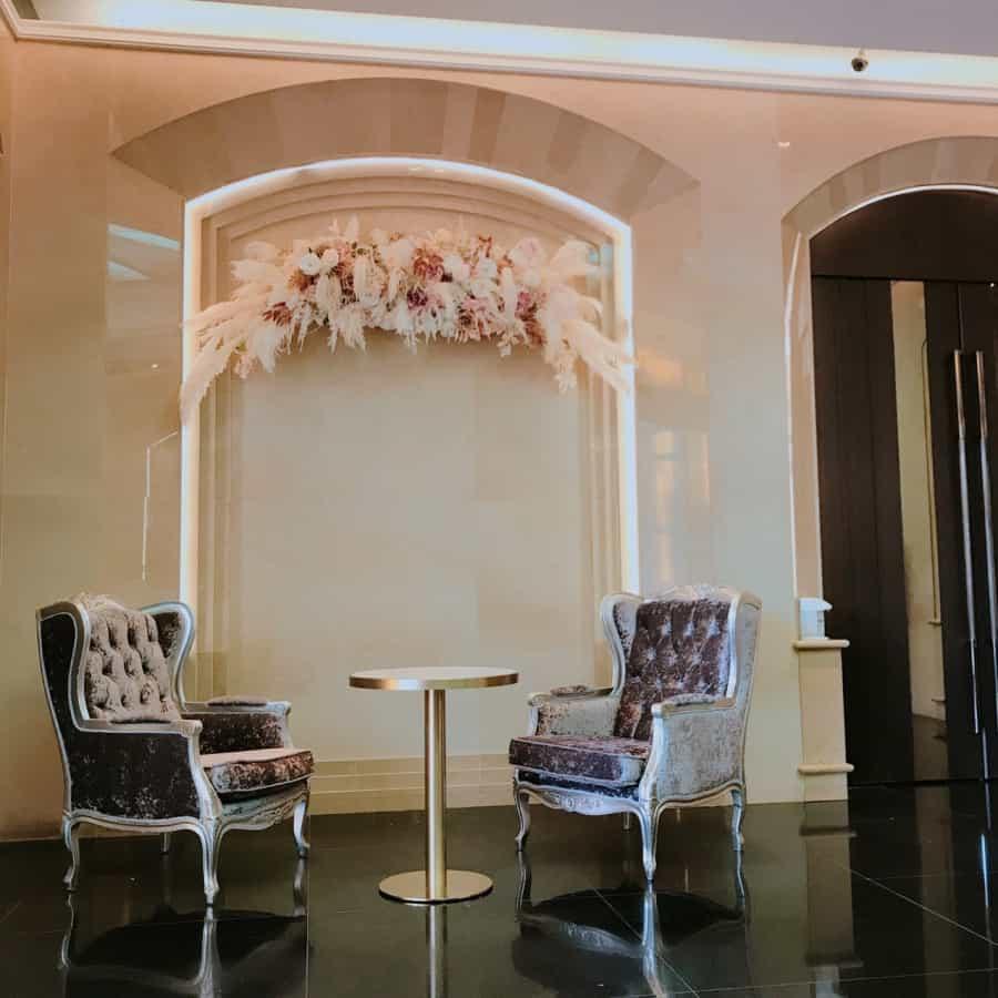 豪鼎飯店婚宴會館乾燥玫瑰粉