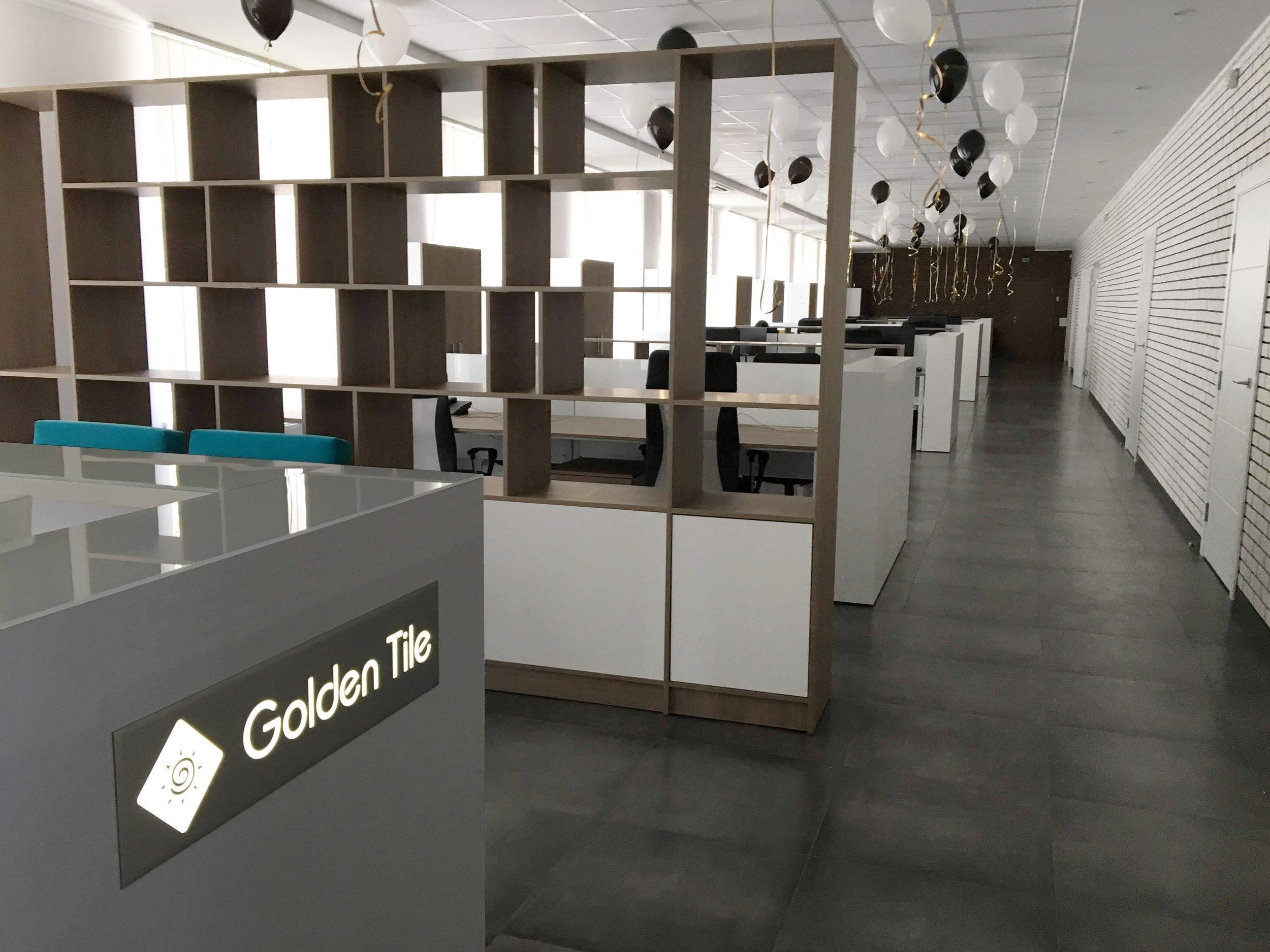 Golden Tile - Виды работ: строительно-отделочные работы, полное меблирование помещения