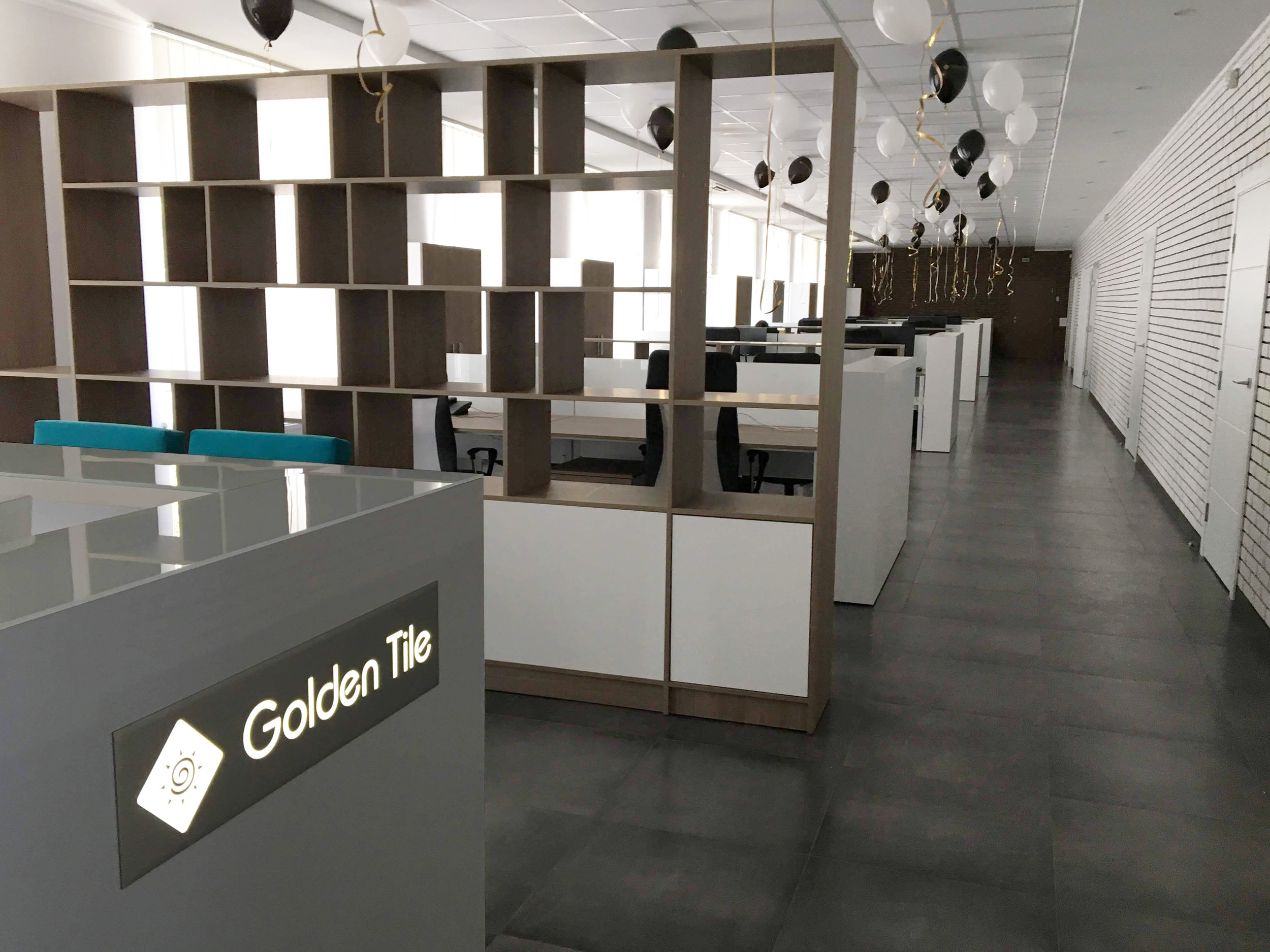 Golden Tile - Types of works: construction and decorativwe works, complete furnishing of the premise