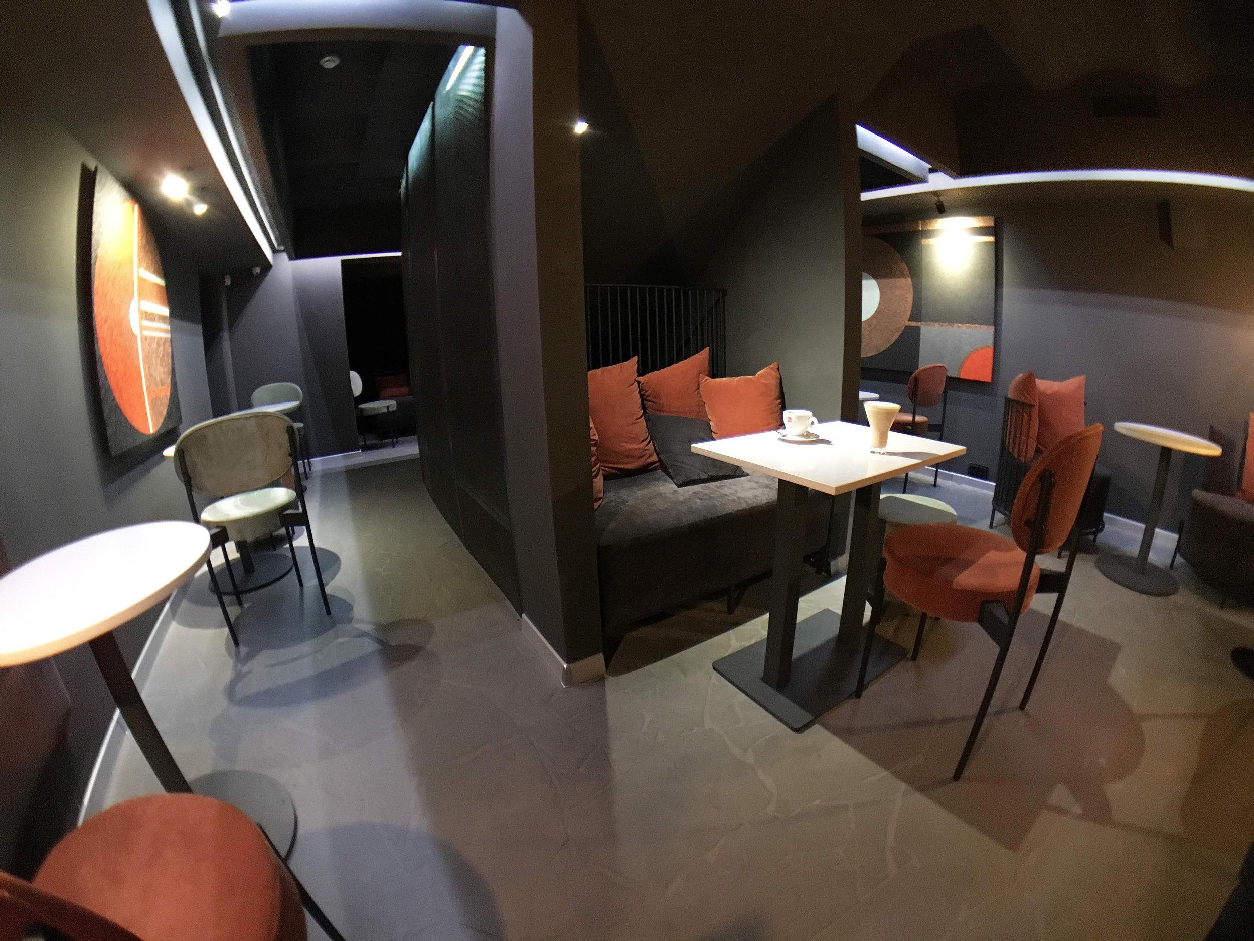 illy espresso bar - Виды работ: меблирование помещения