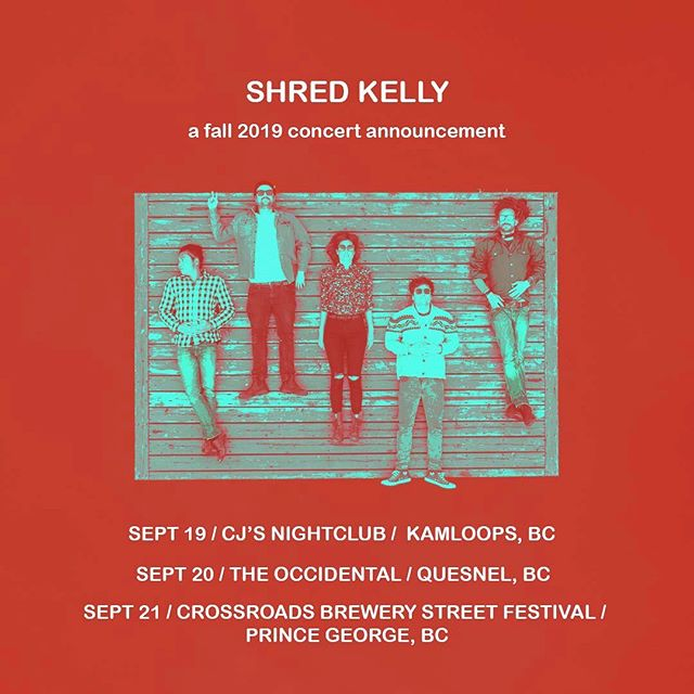 We're excited to announce some September shows. Stay tuned for more! . Sept 19 @cactusjacksnightclub  Sept 20 @theoccidentalmv  Sept 22 @crossroadscraft