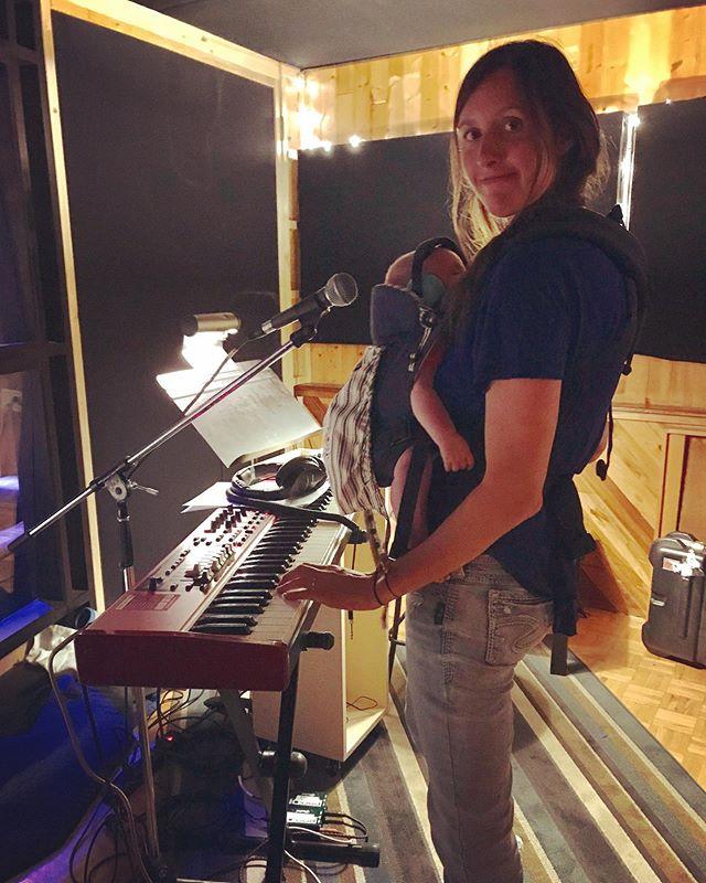 Murphy's first recording session.  #Dedication #TheShowMustGoOn @nygproductions @hipposonic @music_bc @creativebcs