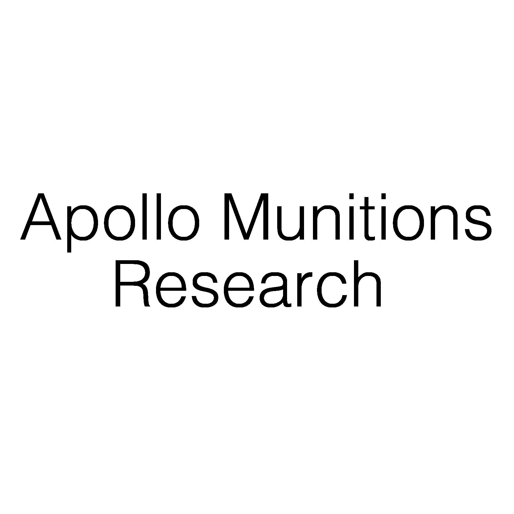 Apollo Munitions Research