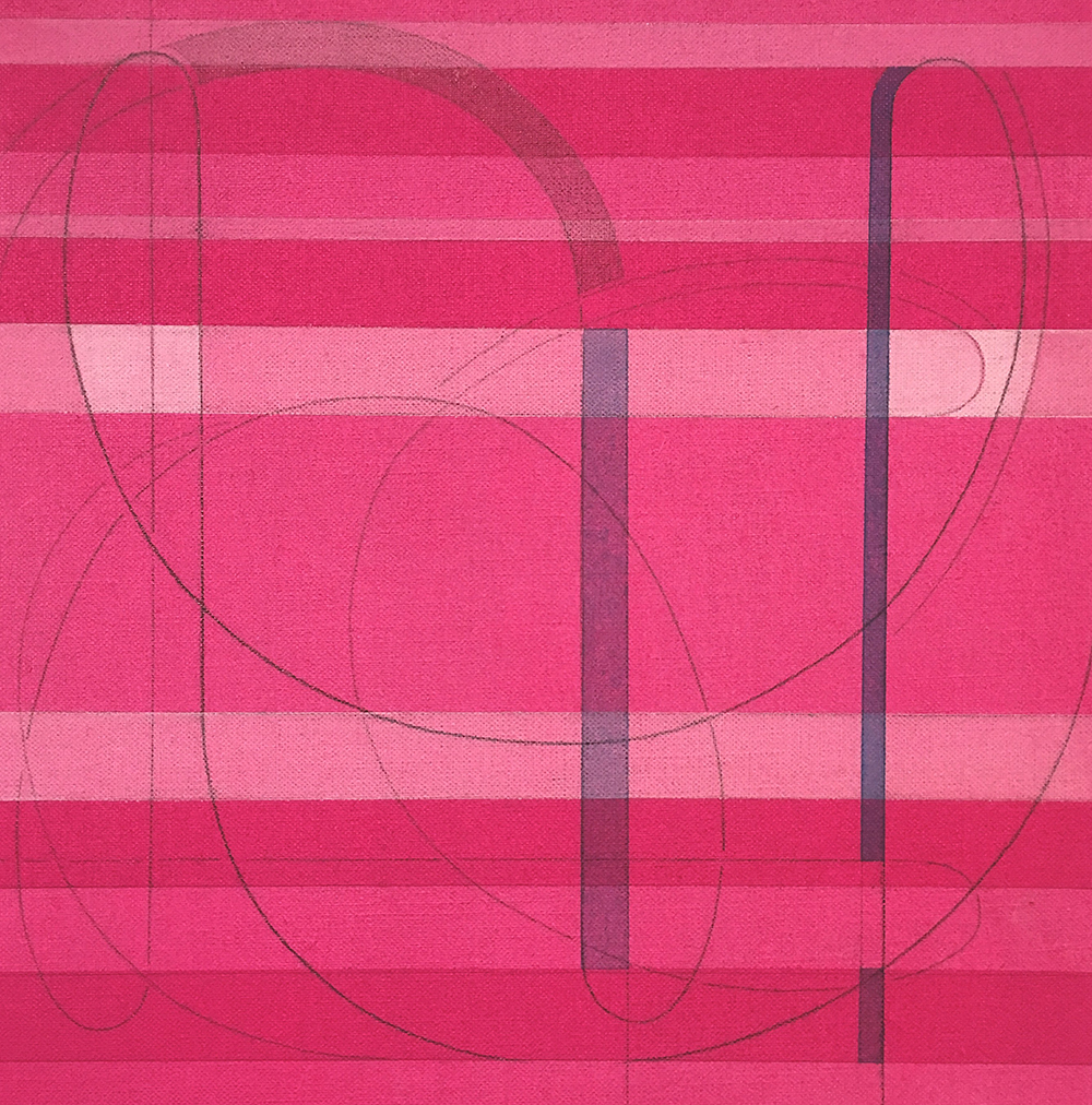 Every Other Line: Magenta #2