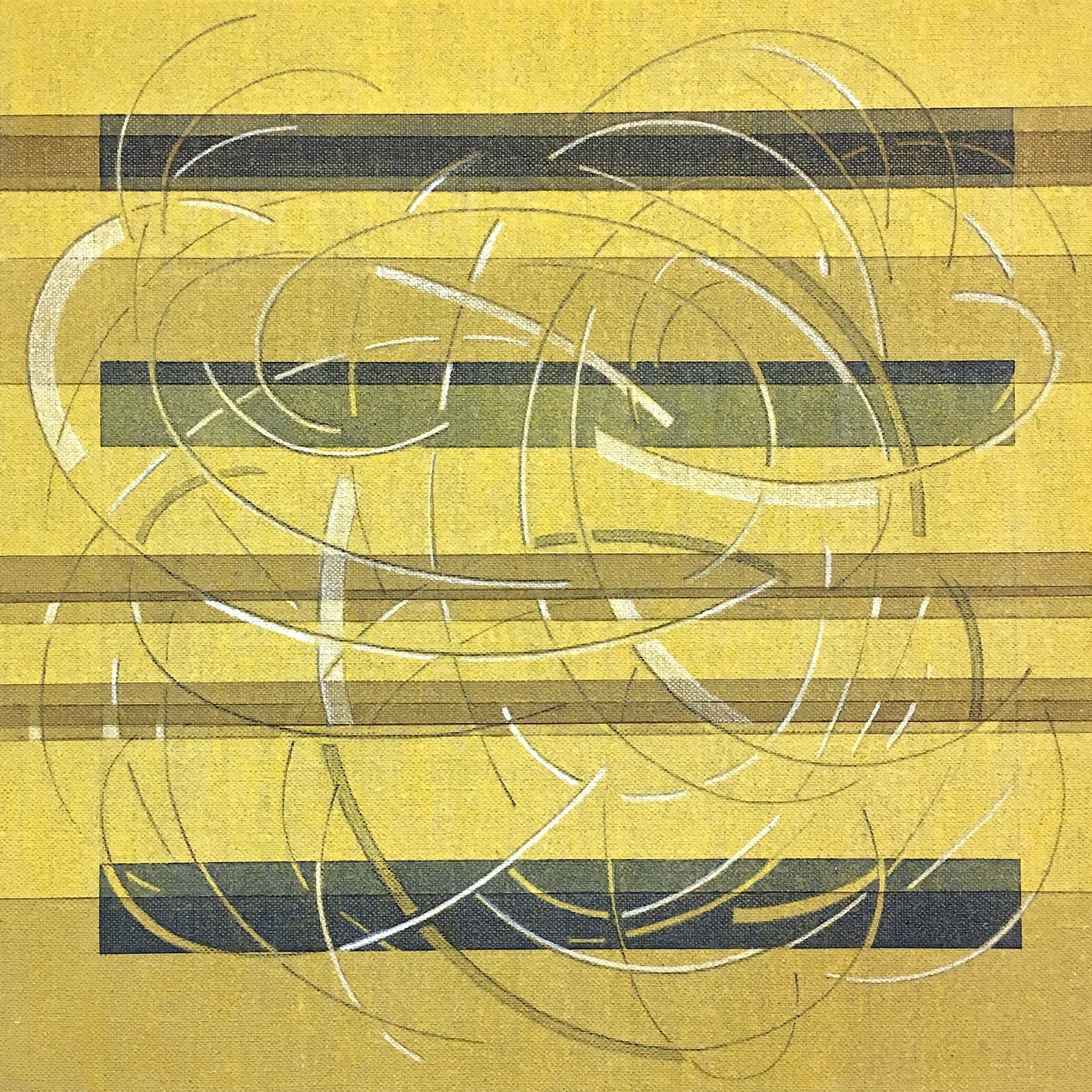 Every Other Line: Yellow Medium #1