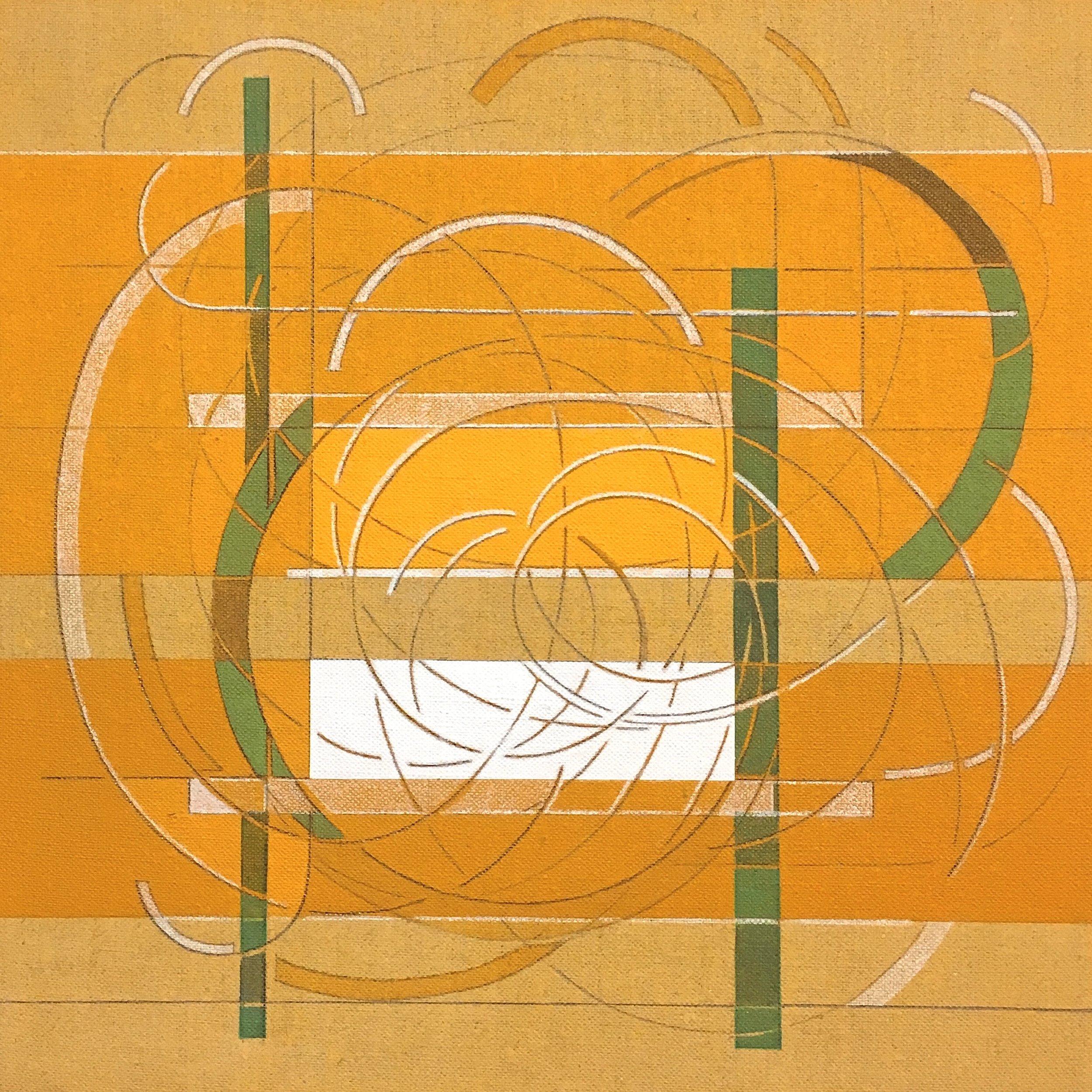 Every Other Line: Orange #2