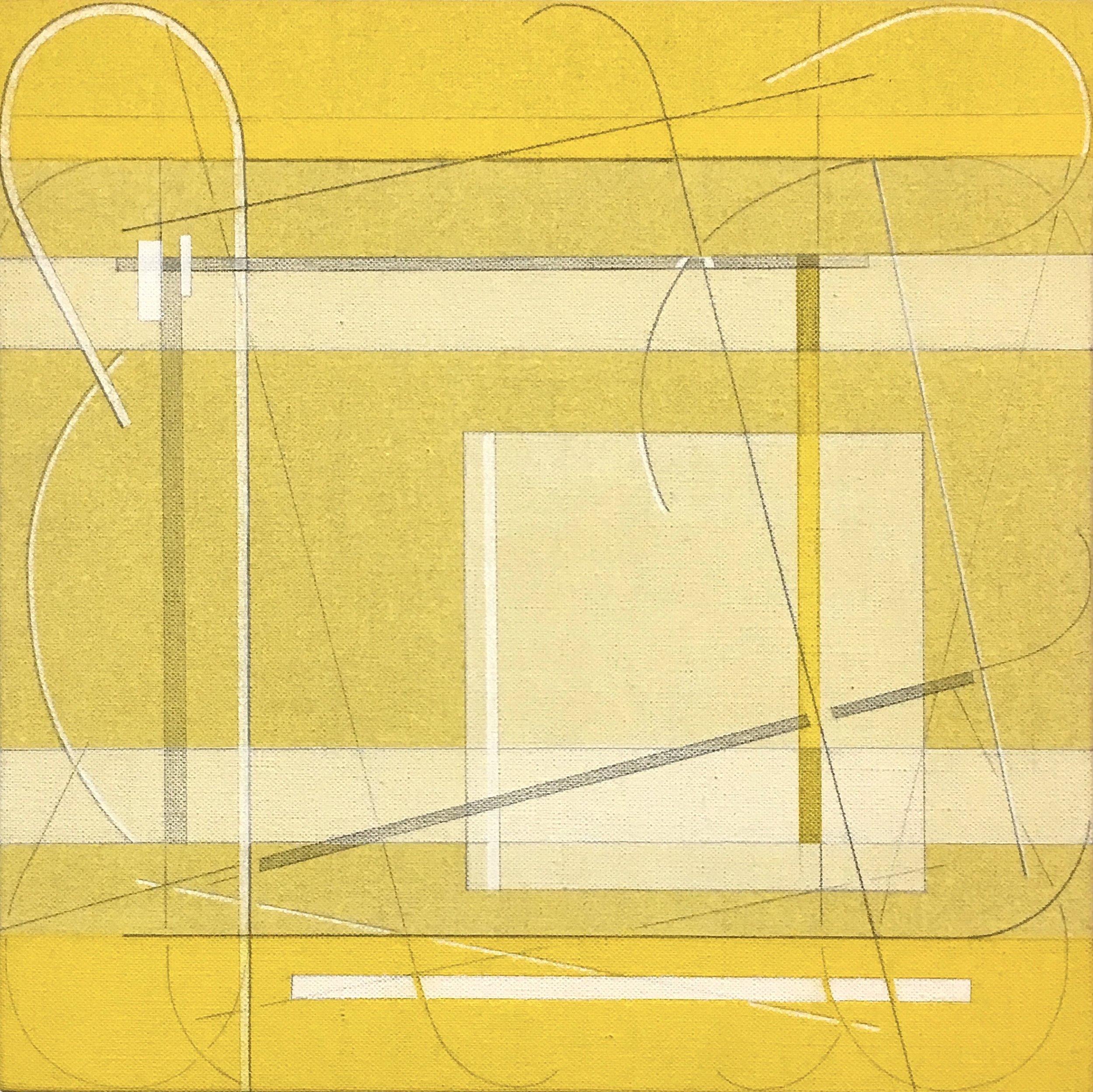 Every Other Line: Yellow Medium #2