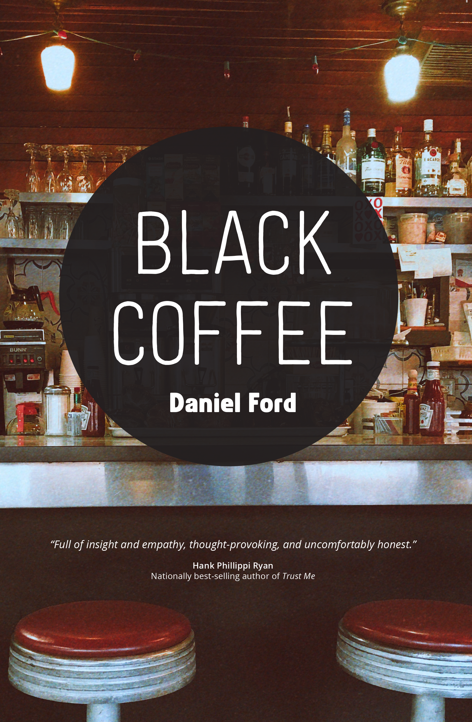Black Coffee - Black Coffee, a new short story collection from the author of Sid Sanford Lives!, brews together heartsick, overcaffeinated characters and dialogue that sizzles off a greasy diner grill.Enter a mournful veteran's mind as he loses his grip on reality. Join an all-female extermination squad hunting down despicable men. Wait at the bar with two soul mates as they battle their stormy past and try to bring a cold love back to a boil.These nine moving, funny, and, at times, terrifying stories explore how people meander in and out of each other's lives, why family bonds are the hardest to navigate and break, and how hope lights a path even in the darkest of coffee cups.Cover design: Jonathan LeePhoto credit: Cristina Cianci