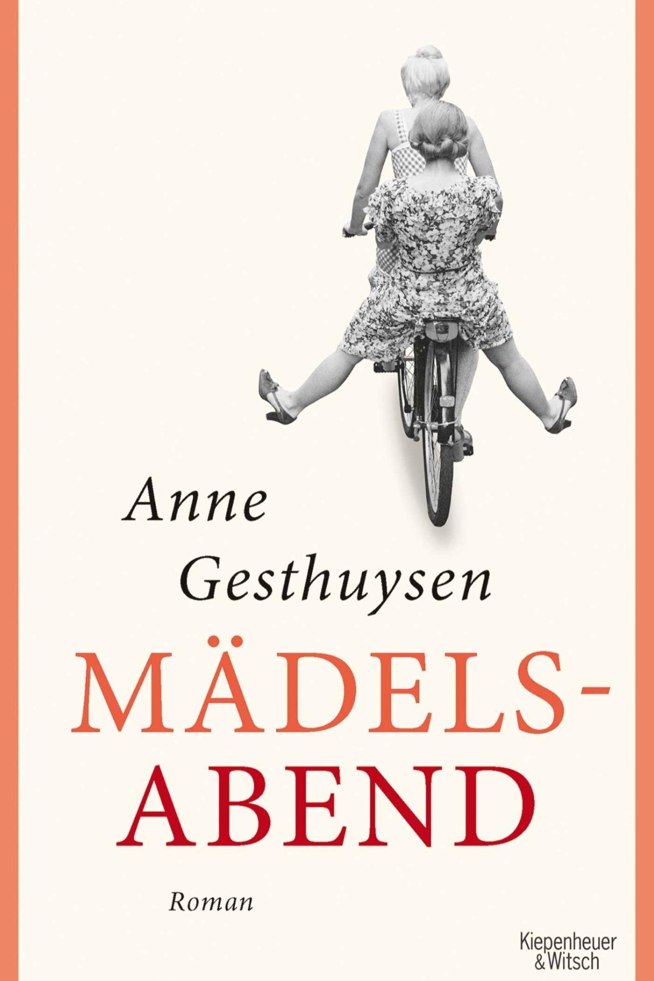 »Mädelsabend« auf Platz 8 - Anne Gesthuysens dritter Roman »Mädelsabend« erreicht in der 7. Woche nach Erscheinen Platz 8 der SPIEGEL-Bestsellerliste. (26.12.2018)