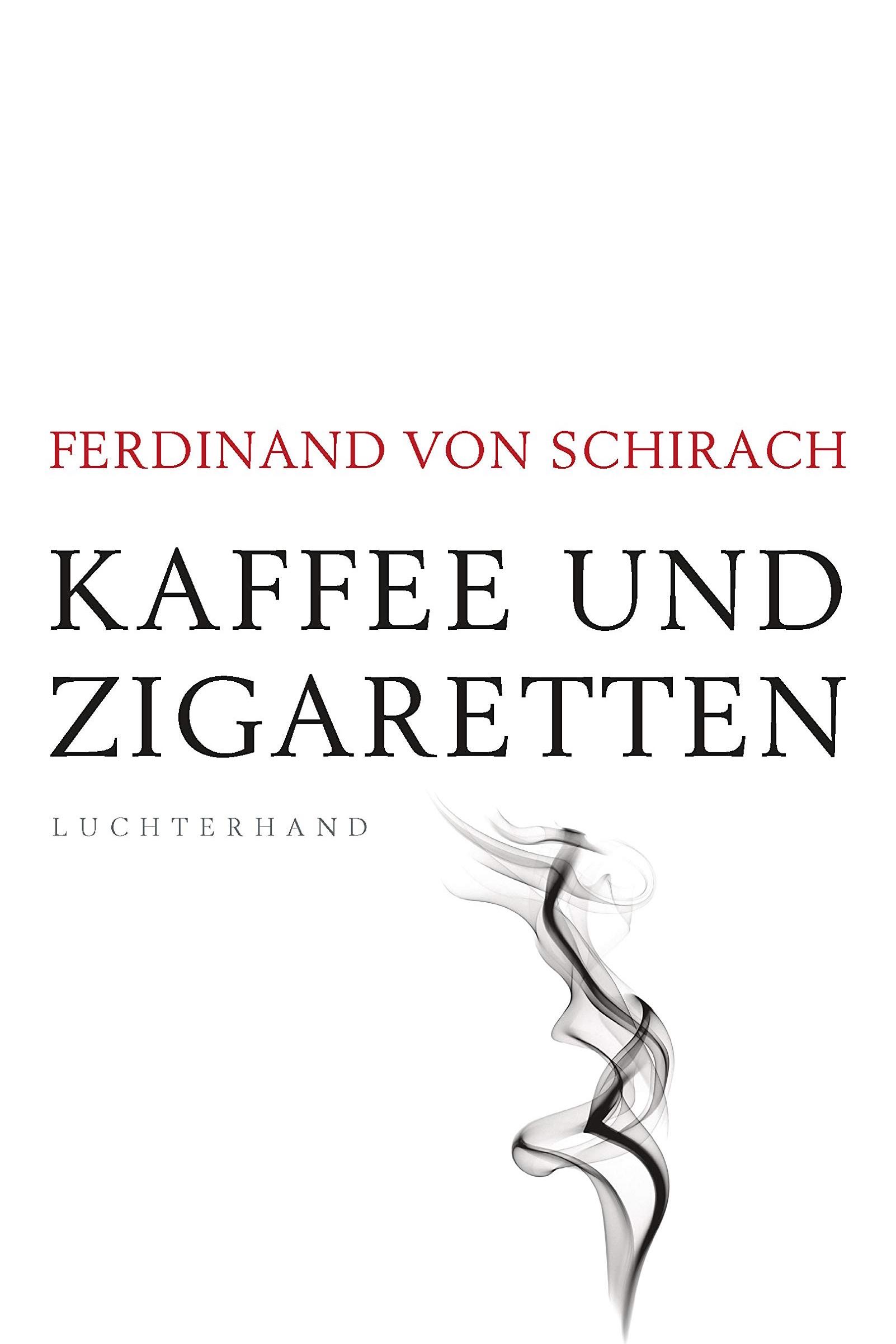 »Kaffee und Zigaretten« auf Platz 1 - Ferdinand von Schirachs neues Buch »Kaffee und Zigaretten« steigt in der zweiten Woche nach Erscheinen auf Platz 1 der SPIEGEL-Bestsellerliste. (12.03.2019)