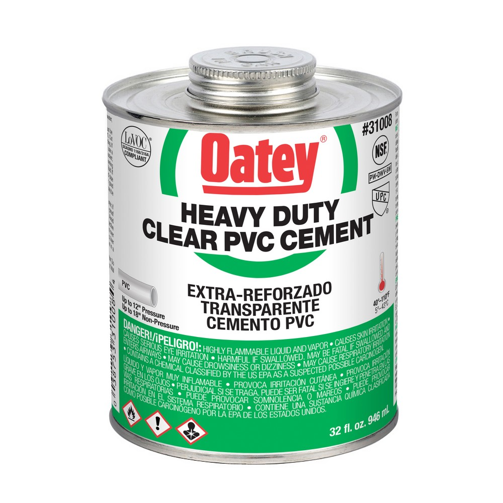 31008 - 32oz Clear PVC Cement