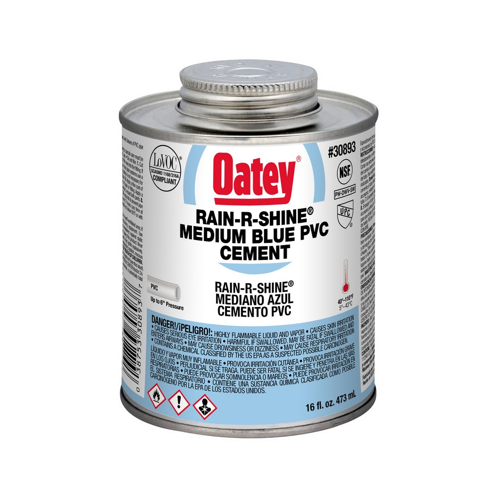 30893 - 16oz Wet-Or-Dry PVC Cement