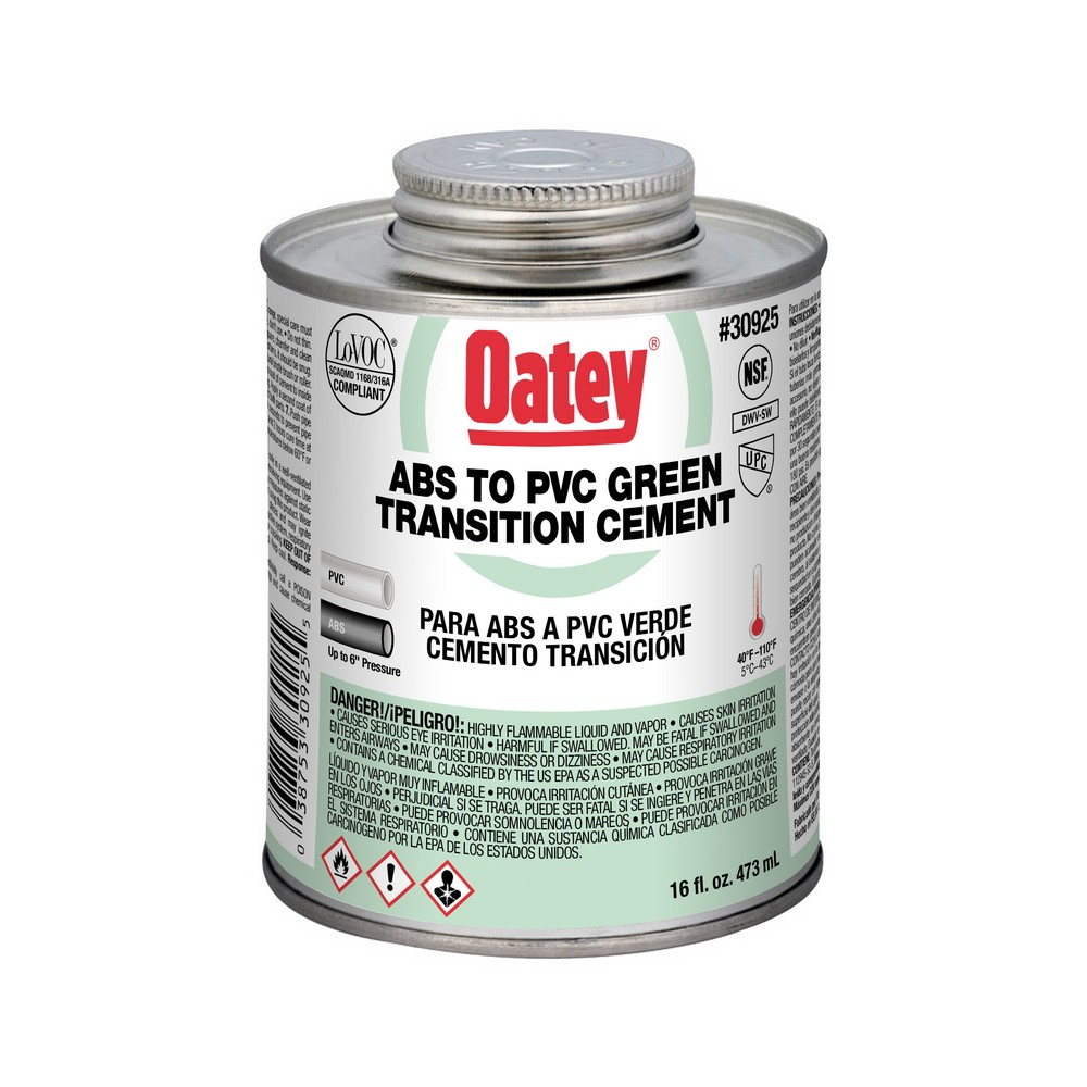 30925 - 16oz ABS-PVC Transition Cement
