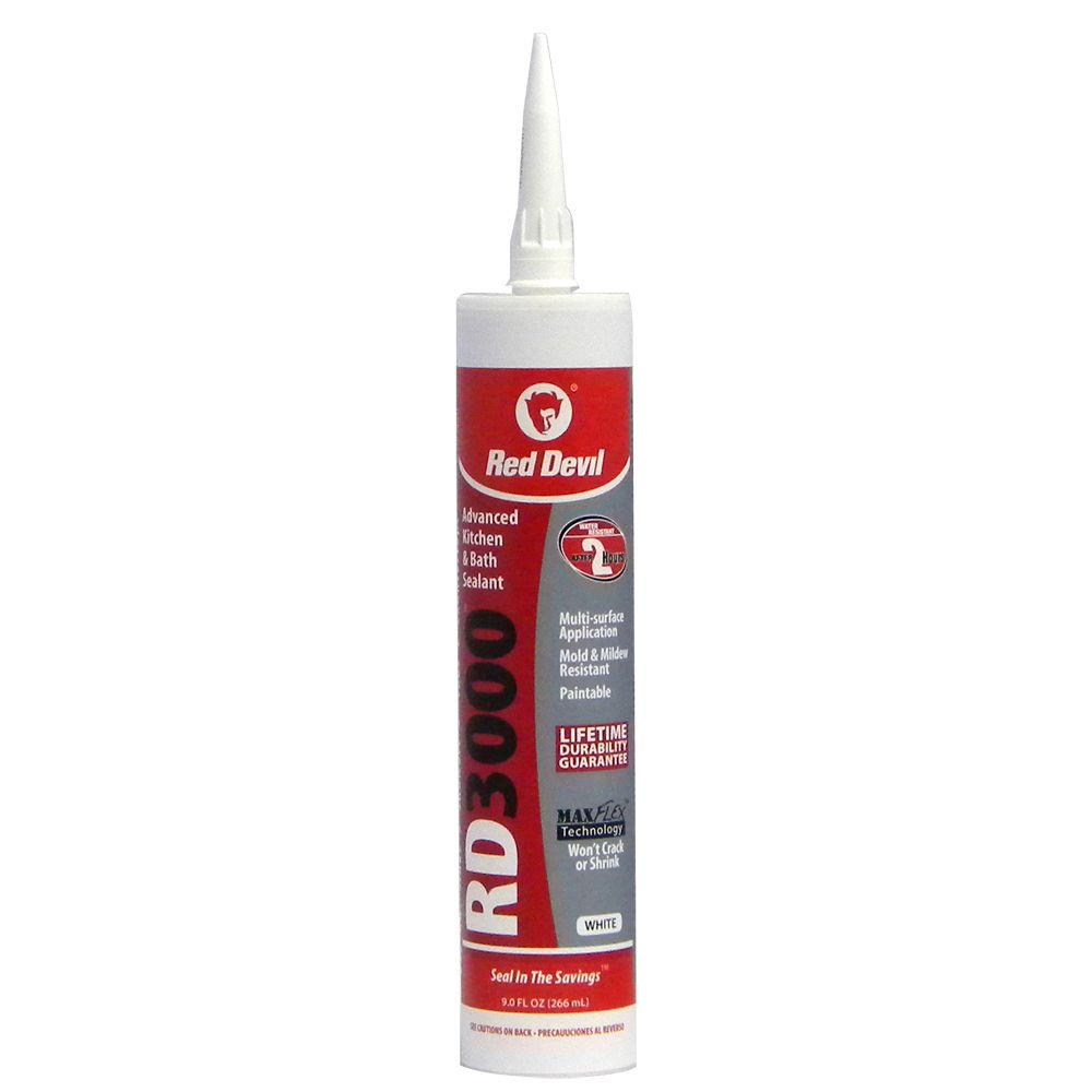 0996 - 9oz RD3000 White Caulk