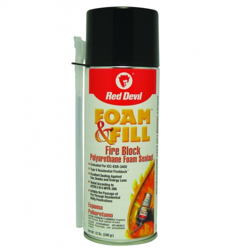 0915 - 12oz Fireblock Foam & Fill