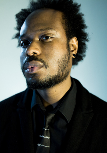 """Jamaal May is the author of  Hum (Alice James Books, Nov 2013), two poetry chapbooks ( The God Engine and  The Whetting of Teeth ), and the winner of the Beatrice Hawley Award. His poems have been published widely in journals such as  The Believer, The New Republic ,  POETRY ,  Ploughshares ,  Kenyon Review , and  New England Review . May's poem """"Hum for the Stone"""" appeared in the Spring 2013 issue of  The Normal School ."""