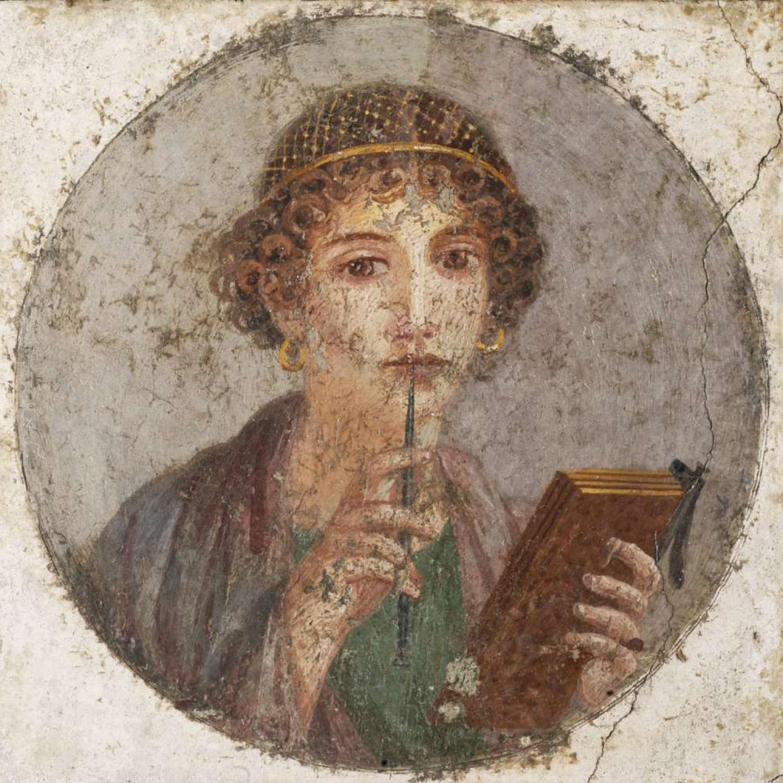 Sappho Poetess PowerWoman