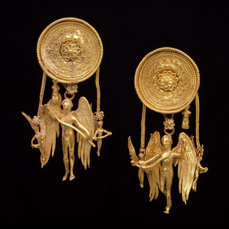 Eros Earrings Dallas Museum of Art