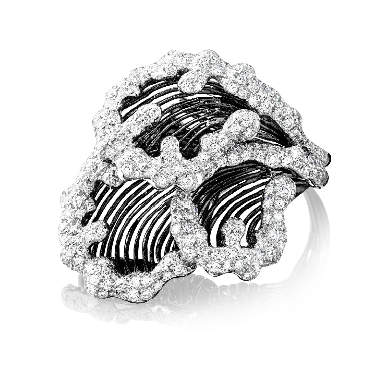 Ortaea Koral Ring Motley Metals