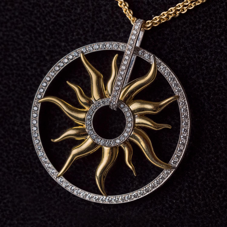 Makova Jewelry Sun Pendant