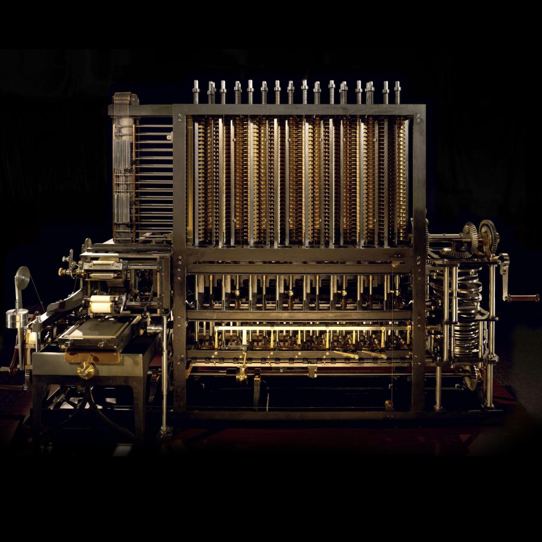 Ada Lovelace and Charles Babbage Analytical Machine