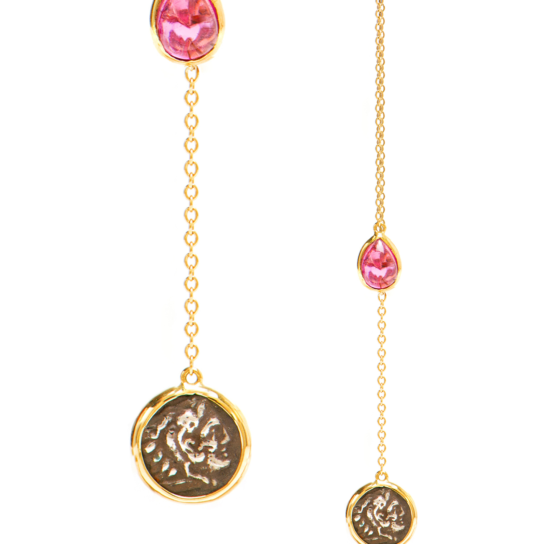 Alexander The Great earrings - Dubini Jewellery