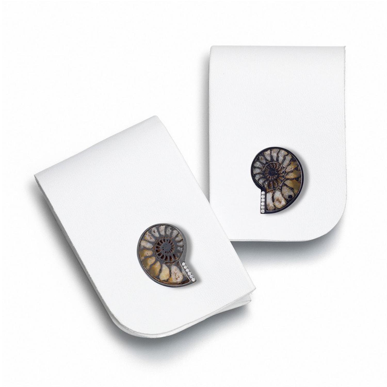 Ornella Iannuzzi Ammonite Fossil cufflinks