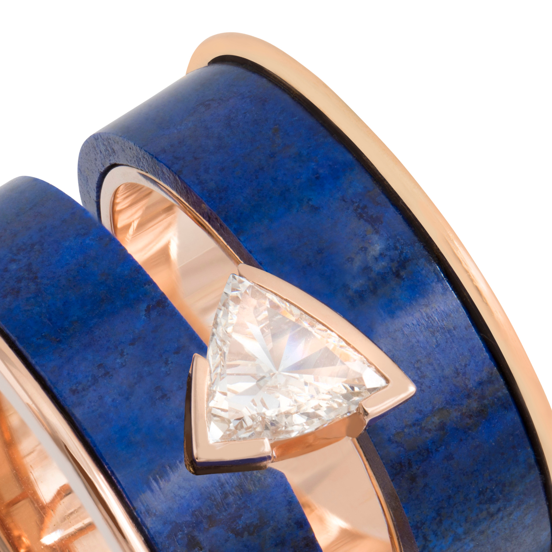 Nunn Jewels Lapis Lazuli Mohja Ring