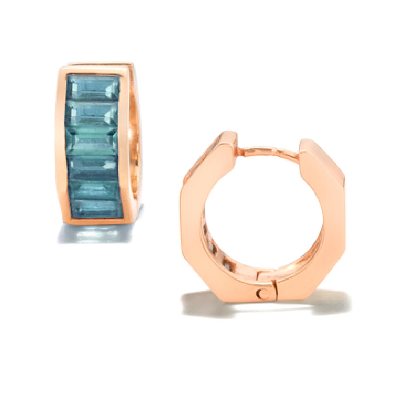 Jolly Bijou London Blue Otto Earrings