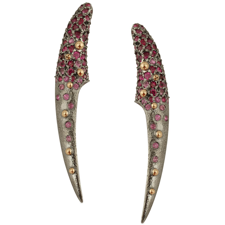 Sapphire Odessy earrings - Suciyan