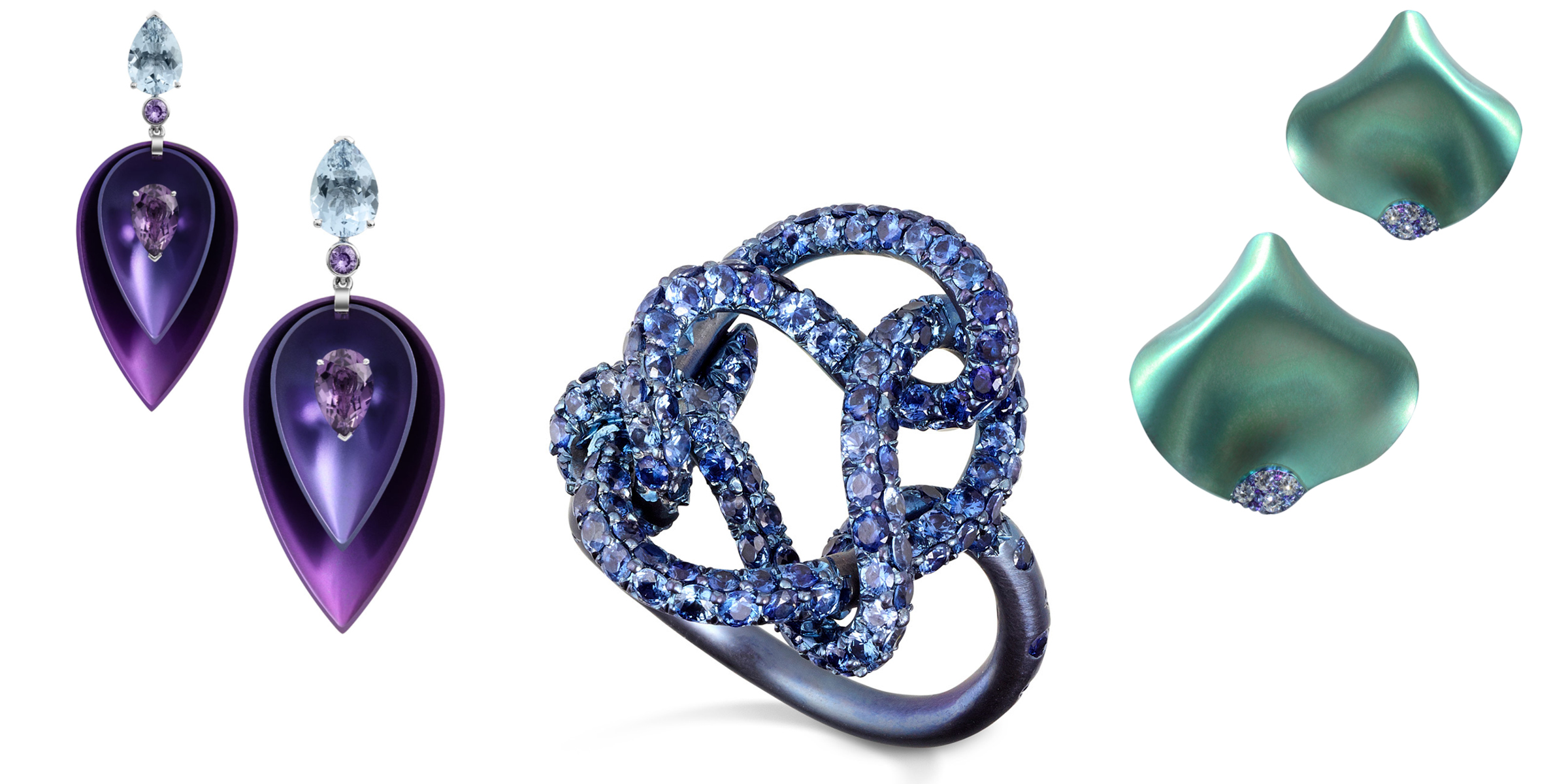 Meet the Motley Metals - Colored titanium jewelry