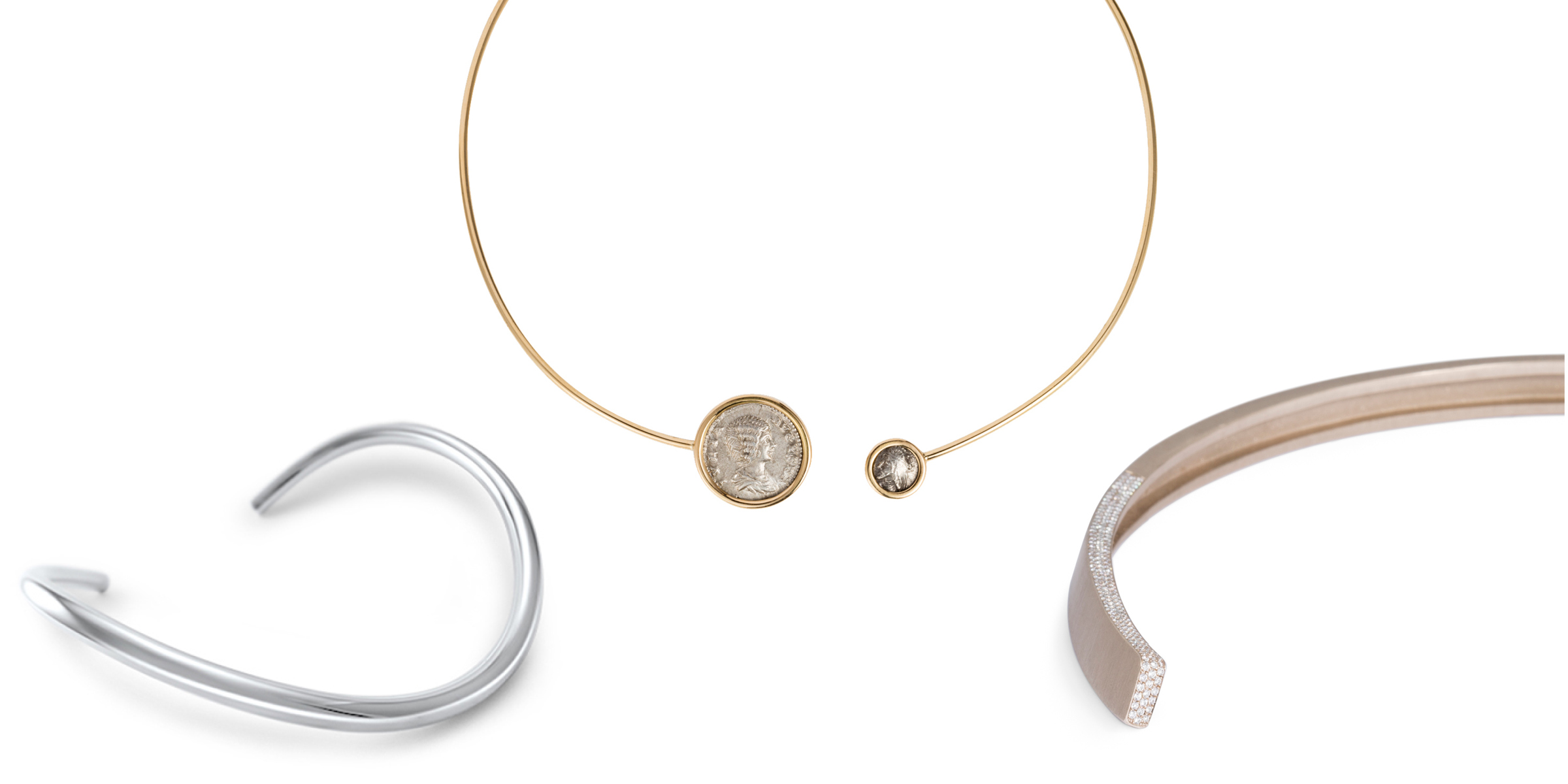 Meet the Modern Torque - a curation of modern jewels based on the ancient Torque or Torc