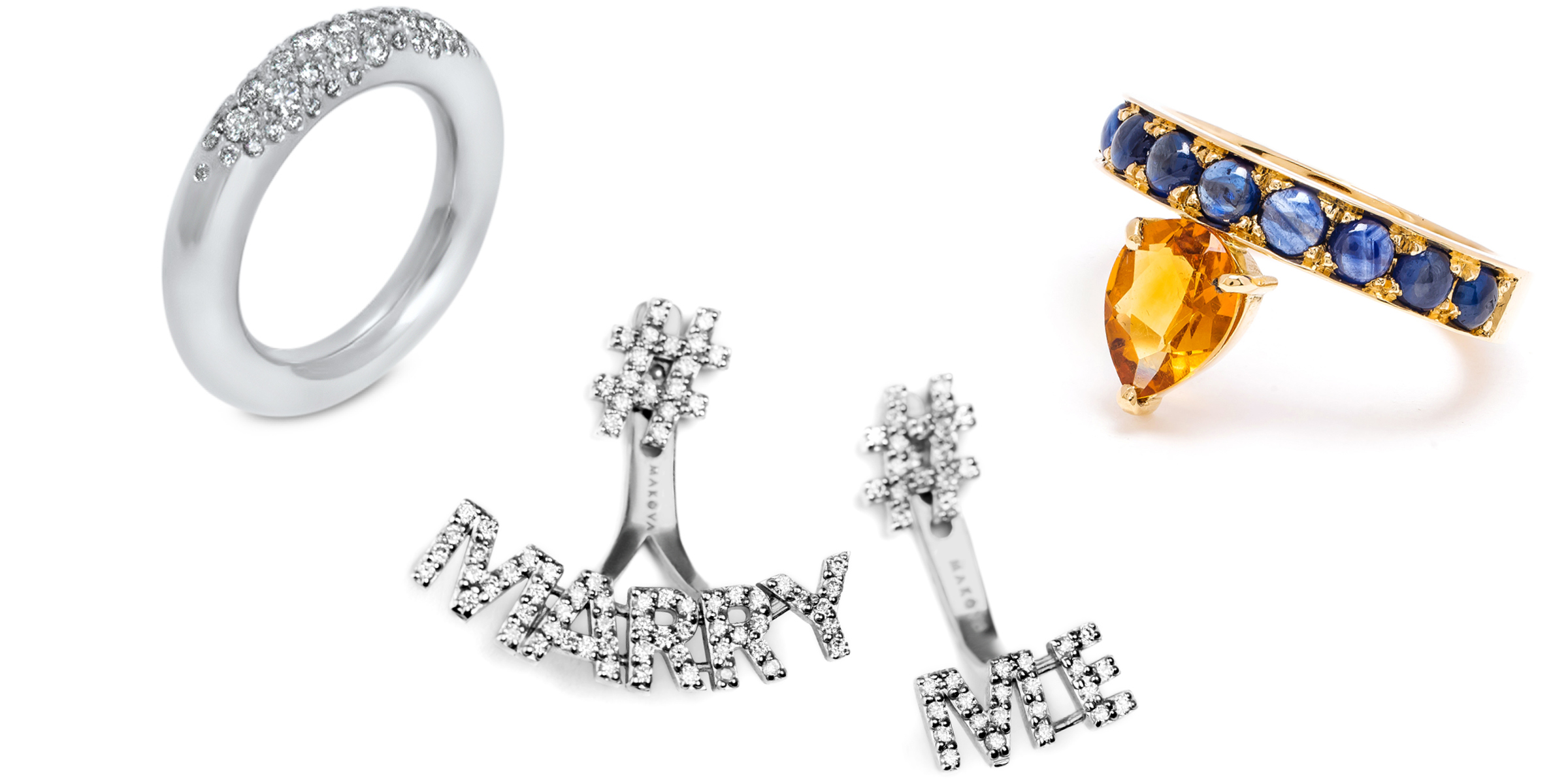 Meet the Engagements - A curation of alternative engagement rings that are uniquely beautiful