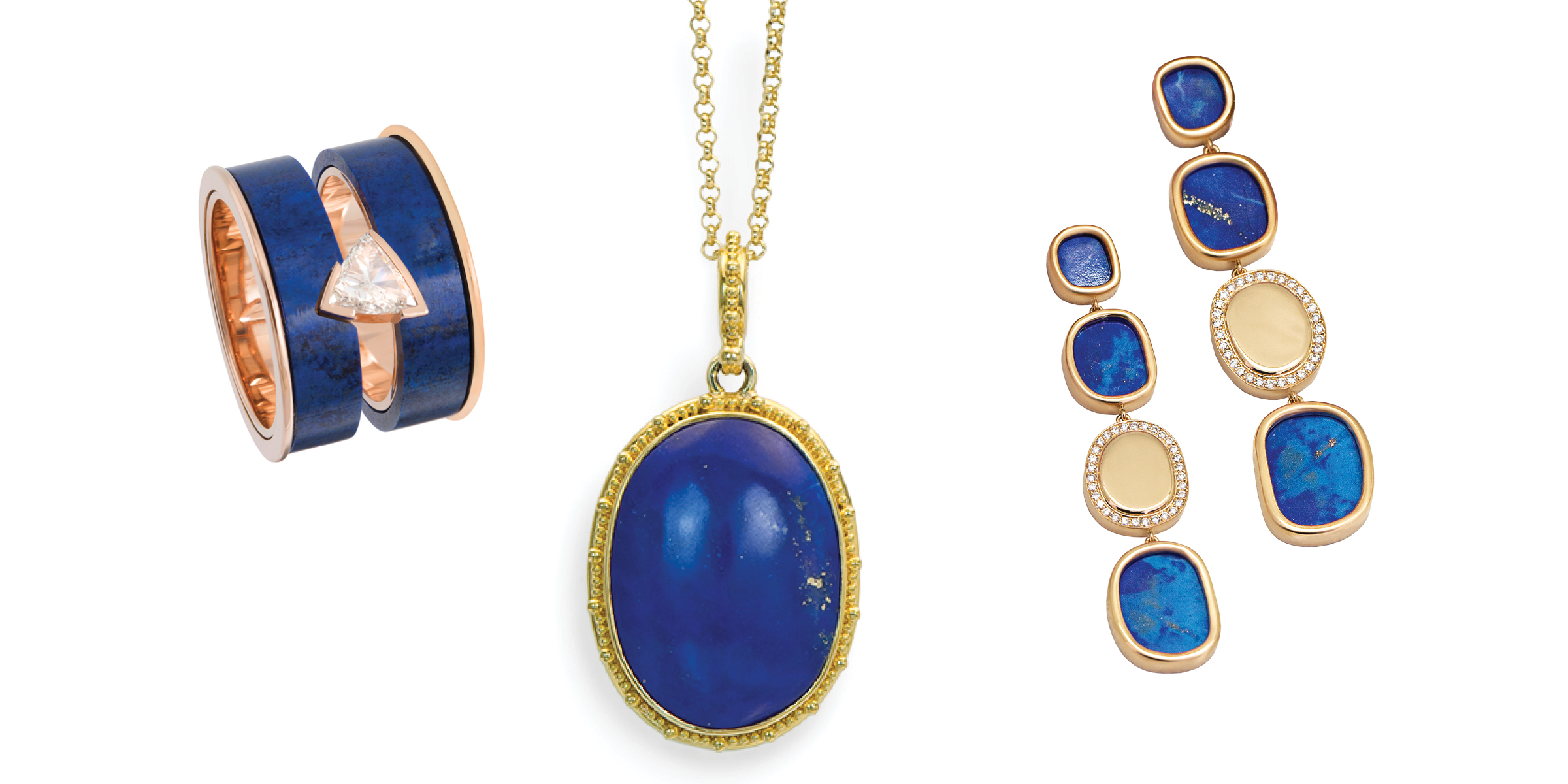Meet Lapis Lazuli - a curation of jewelry using this stone that was among the most prized luxuries of the ancient world