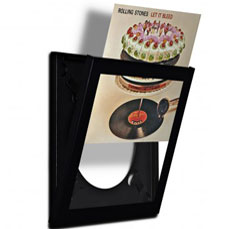 Record Display Frame - This brilliant product allows you to store your vinyl safely but display it proudly on the wall. Each frame opens for easy access which means you can switch your records out whenever you want. Frames come in white or black (you can even buy a three-pack which ends up being a better overall value).