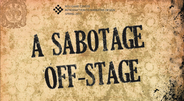 Sherlock Holmes Consulting Detective: A Sabotage Off-Stage