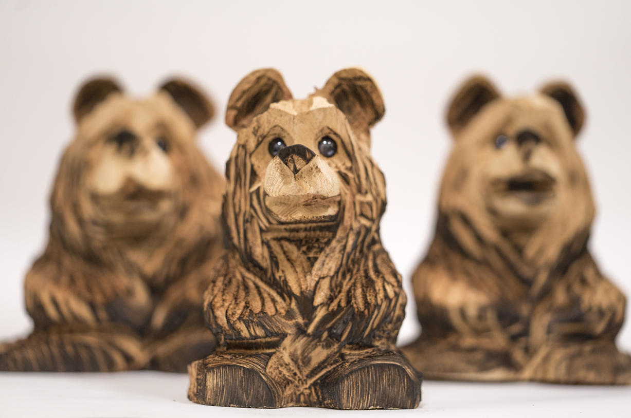 - Embark on an adventure to find Art the Bear! Each day we will hide a carved bear somewhere in Oakhurst. Look for daily clues posted each morning on our social media. So be sure to follow us on Facebook , Instagram or Twitter! Don't miss your chance to find your very own hand carved Art the Bear!LEARN MORE