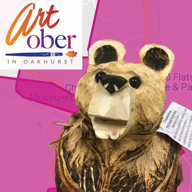 Well folks... due to the Public Safety Power Shutoff,  looks like ART the Bear will be taking the day off today.  We will update when you find him once the those electrons start flowing again.  Be safe! #ARToberOakhurst #ARTtheBear #psps