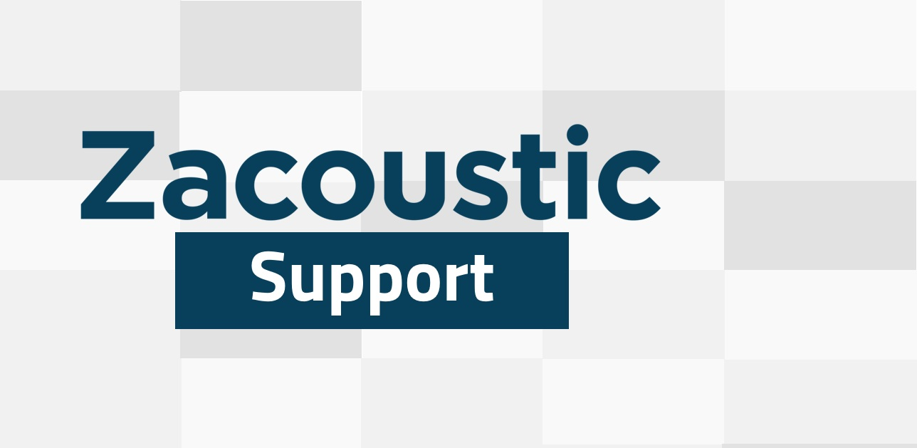 CLIENT PORTAL - Welcome to Zacoustic's Support Portal. Please enter in your client ID below