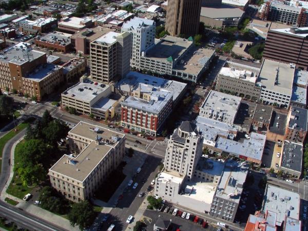 Downtown Boise Idaho