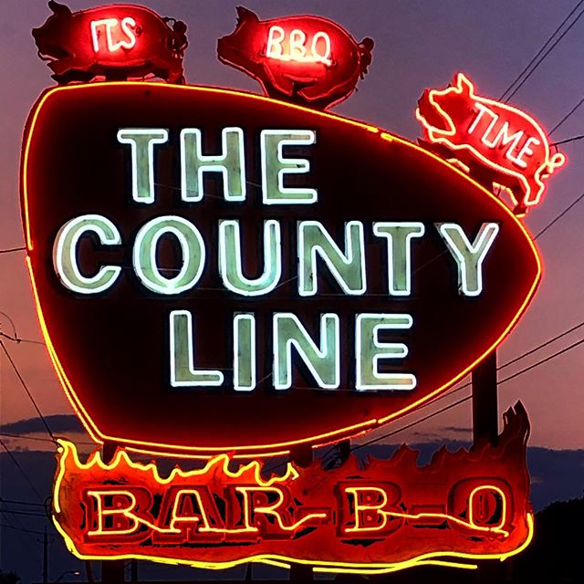 Yum yum eat 'em up #bbq #Austin #hillcountry #walkingandeating