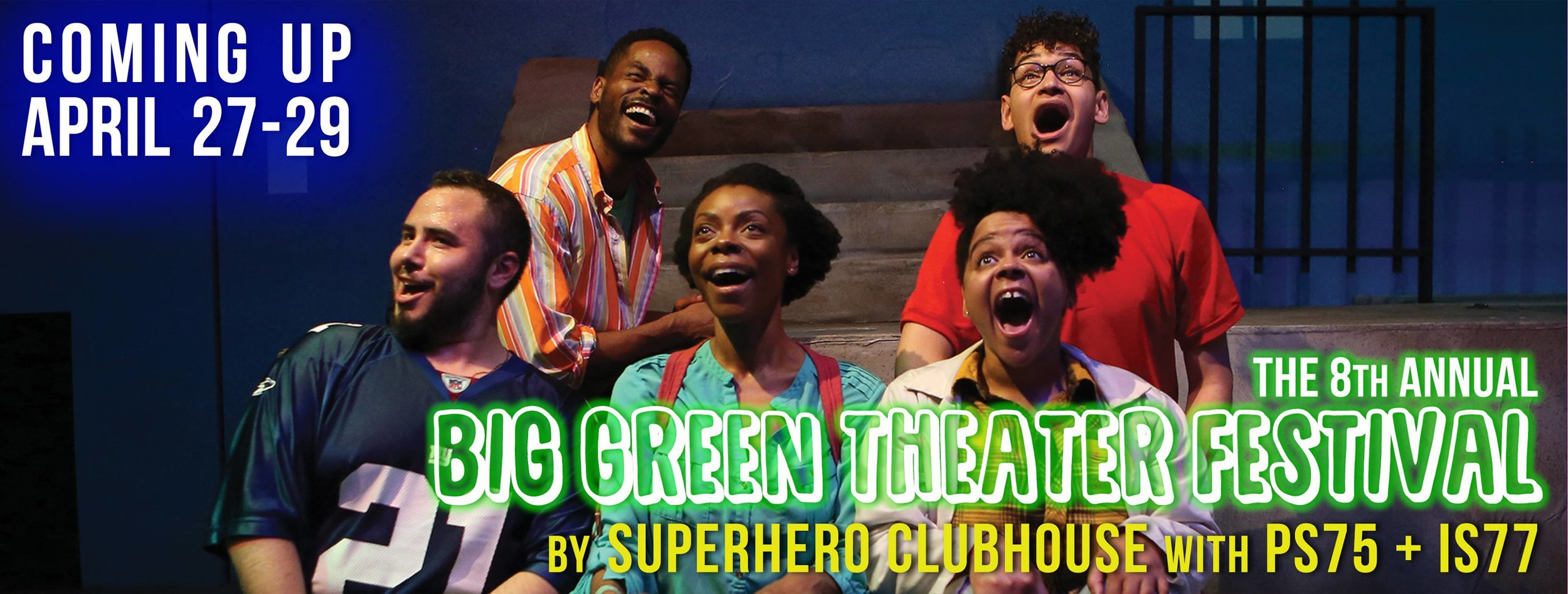 I'll be returning back to the Bushwick Starr for the Big Green Theater Festival!    Click Here    to reserve your free tickets! I will be performing the plays by IS77 which go up Saturday at 1pm and Sunday at 4pm only!!