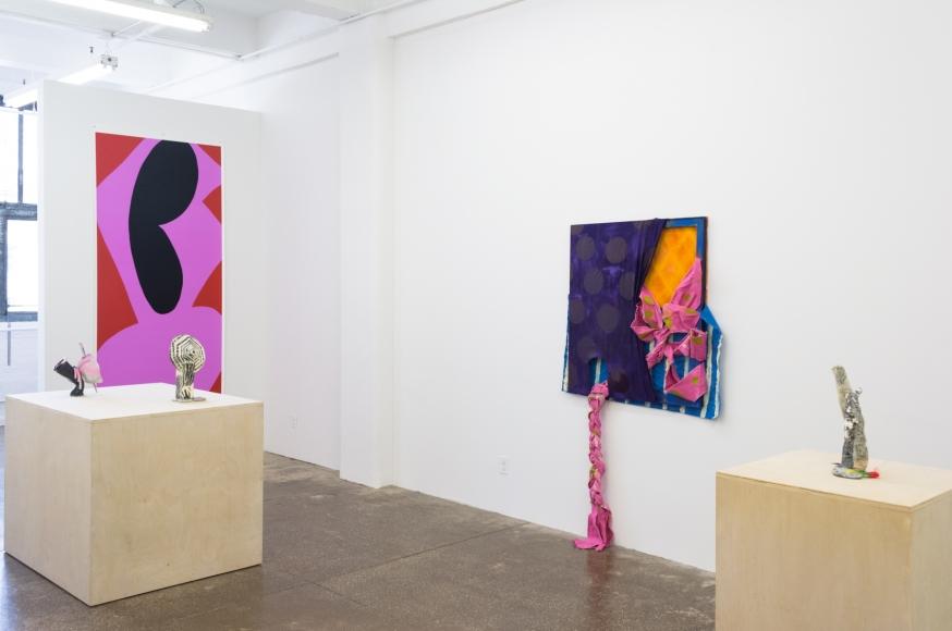 Installation View (courtesy of Morgan Lehman Gallery)
