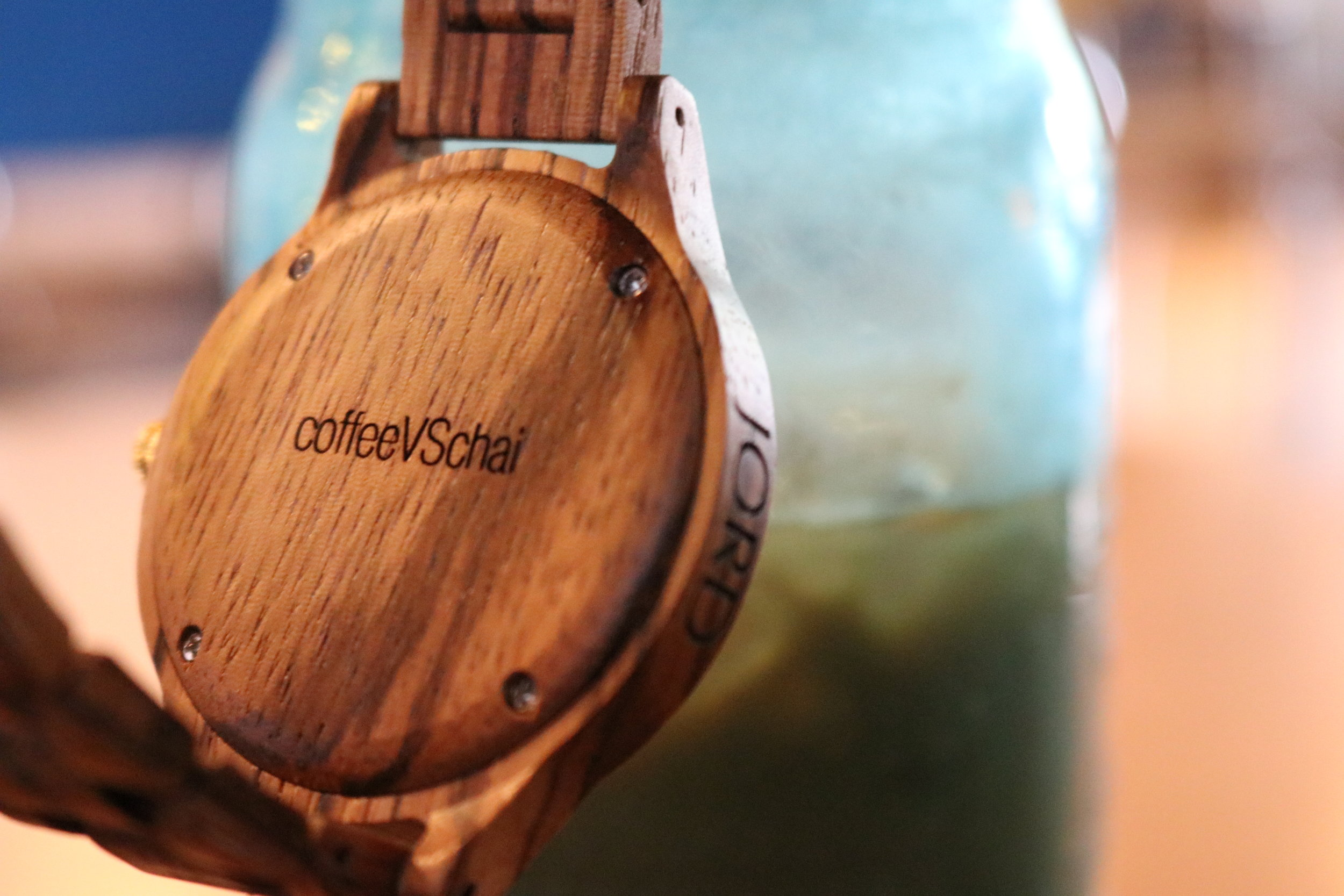 JORD watches are not just chic but also customizable.Check out this amazing engraving on the back!