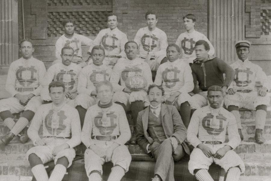 Football Team at Claflin University in 1899.jpg